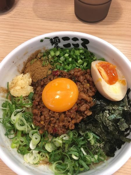 「台湾まぜそば」@麺屋 こころ 大岡山本店の写真