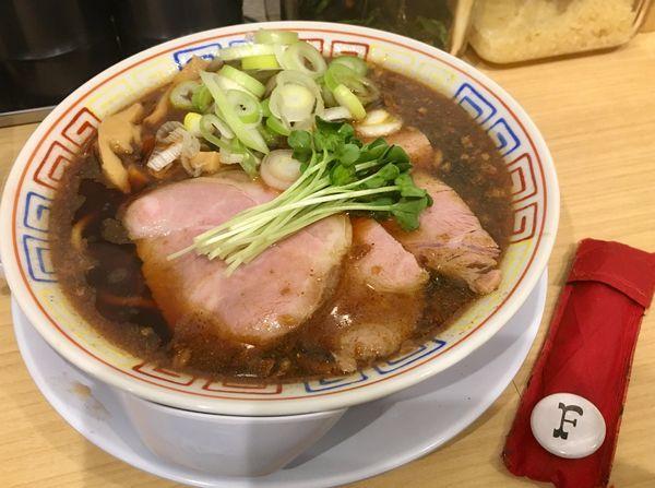 「サバ醤油そば」@サバ6製麺所 南森町店の写真