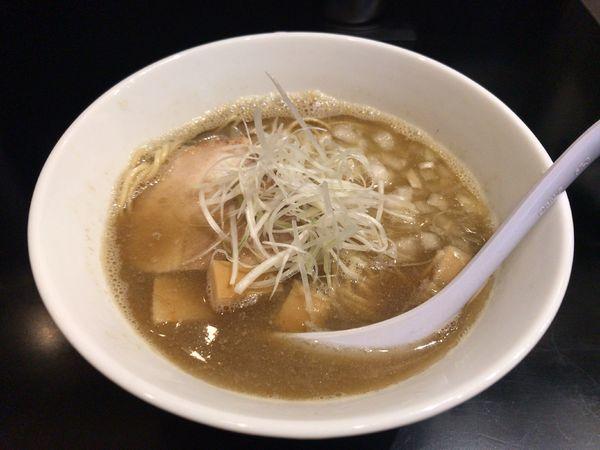「煮干中華そばNORMAL」@煮干中華そば のじじR 本所吾妻橋の写真