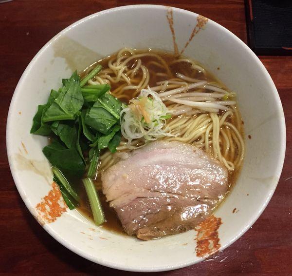 「追鰹醤油ラーメン780円」@旬麺しろ八の写真