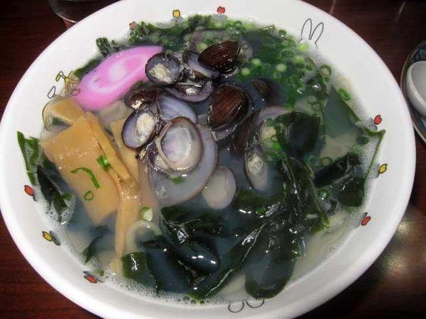 「しじみラーメン小 780円」@太宰らうめんと津軽のめしや「めぇ」の写真