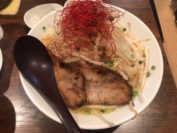 「大蒜 918円」@麺や七福の写真