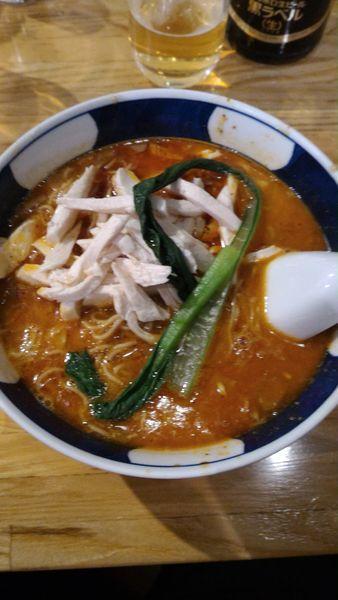 「担々麺 中辛」@支那麺 はしご 赤坂店の写真