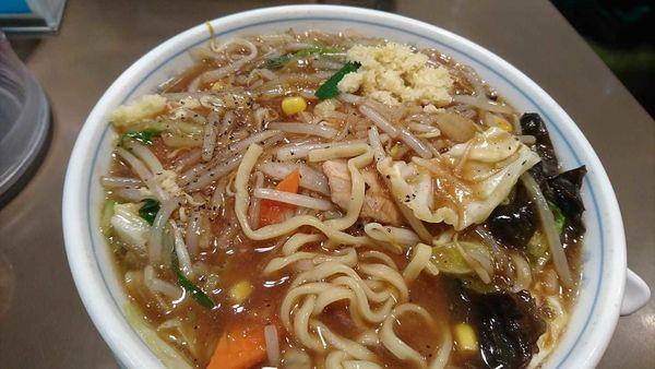 「五目あんかけ湯麵」@たんめん専門店 百菜の写真