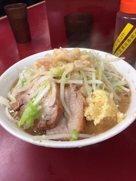 「ラーメン 750円(ニンニク・アブラ)」@ラーメン二郎 相模大野店の写真