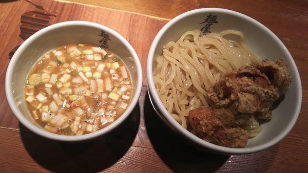 「濃厚鶏天つけ麺」@麺屋武蔵 二天の写真