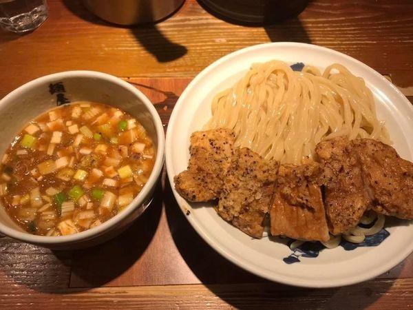 「濃厚豚天つけ麺 中盛」@麺屋武蔵 二天の写真