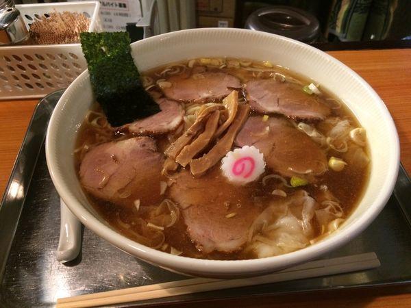 「チャーシューワンタン麺」@日吉 大勝軒の写真