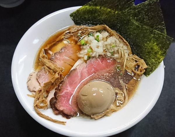 「特製そば(1000円)」@麺処 晴の写真