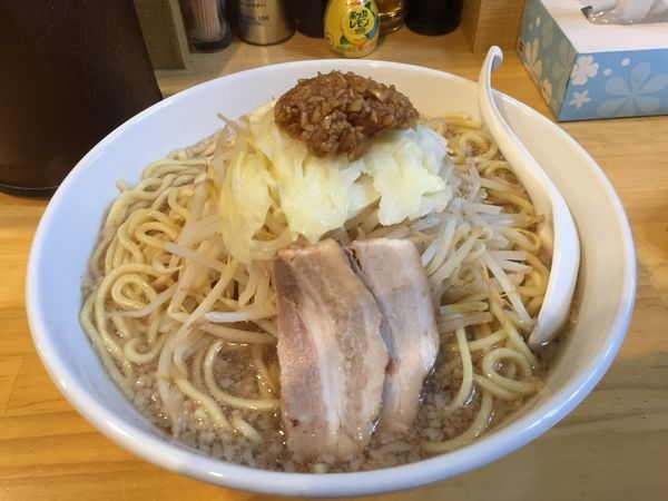 「ふじ麺男盛り麺硬め」@景勝軒 富山店の写真