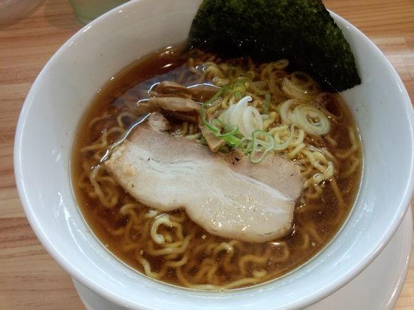 「煮干醤油ラーメン780円」@凌駕EBISUの写真