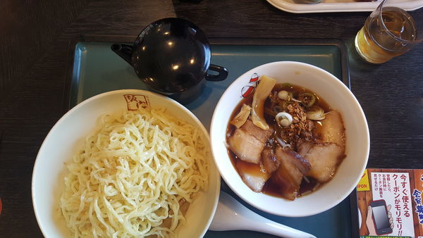 「つけ麺大盛」@喜多方ラーメン 坂内 蘇我店の写真