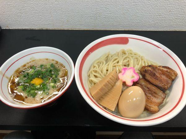 「【限定】特製鶏ポタージュつけ麺」@自家製麺SHINの写真