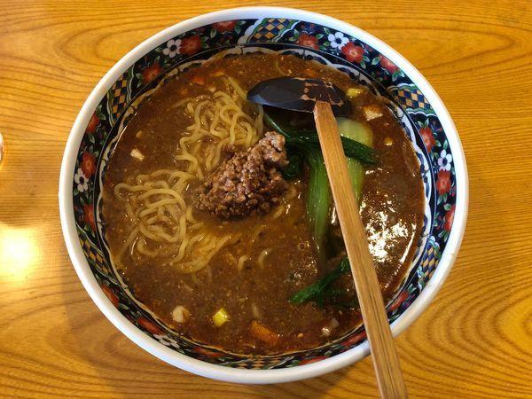 「担々麺」@中華料理 桃園の写真