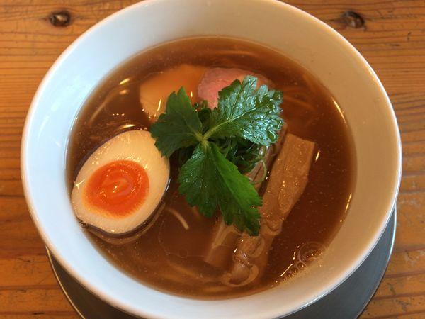 「丸鶏中華そば ¥880」@らぁ麺 めん奏心の写真