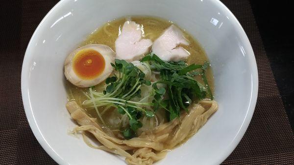 「鶏白湯(醤油)」@麺屋 縁 YUKARIの写真
