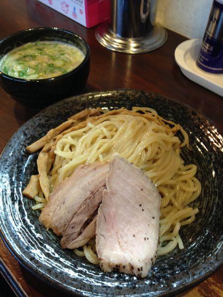 「鶏白湯つけめん しお」@麺屋 京介の写真
