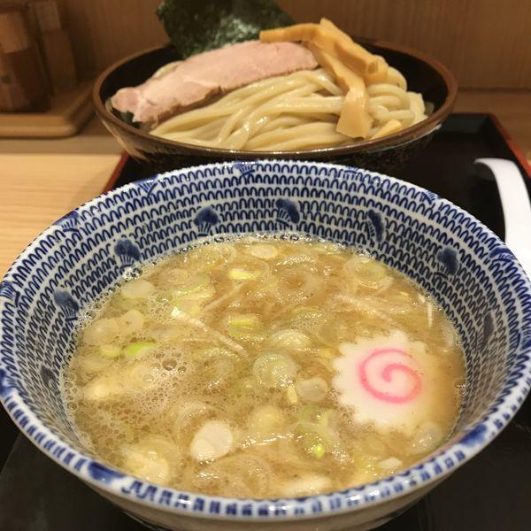 「つけ麺(並盛)(¥730)」@舎鈴 インターシティAIR店の写真