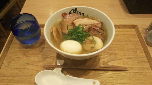 「塩蕎麦+特製トッピング 1120円」@中華蕎麦 時雨の写真