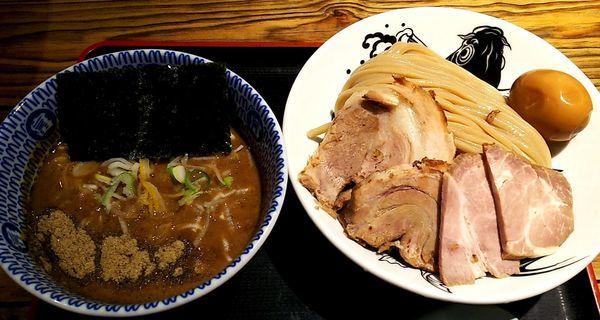 「濃厚特製つけ麺」@松戸中華そば 富田食堂の写真