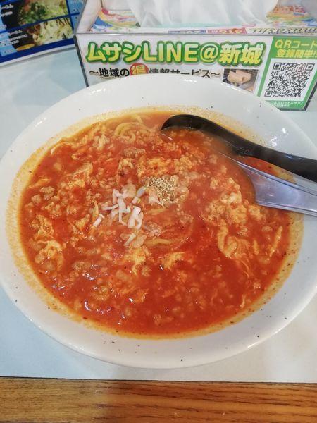 「特製タンタンメントマト750円」@麺や 新のすけの写真
