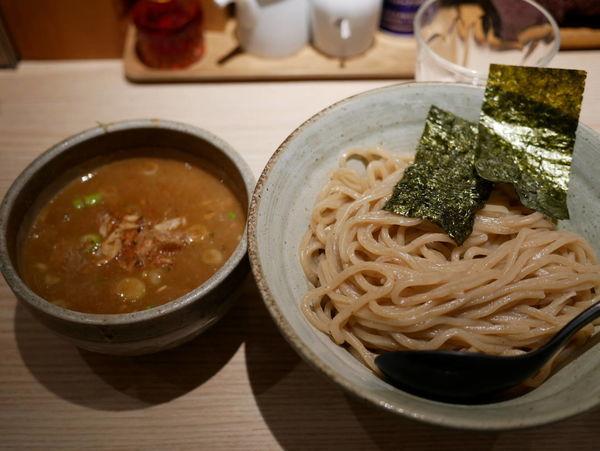 「渡り蟹のつけ麺 大盛」@麺屋 百式 権之助坂店の写真