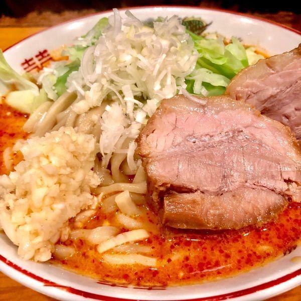 「ミニ赤麺」@ファットンの写真