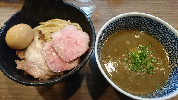 「特製極濃煮干しつけ麺(1100円)」@煮干しつけ麺 宮元の写真
