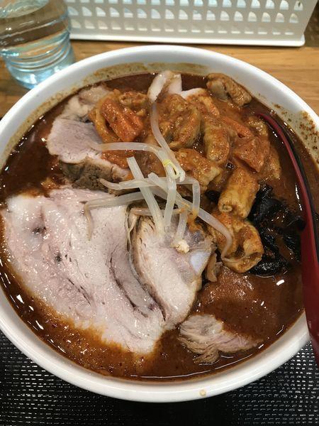 「【限定】怒りのトナカイ」@味噌麺処 花道の写真