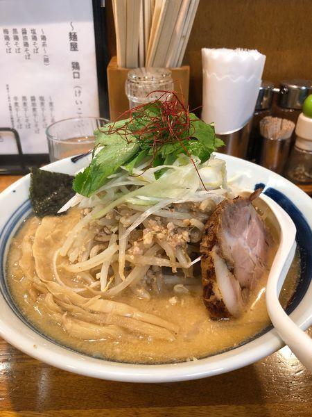 「あさり味噌そば」@麺屋 鶏口の写真