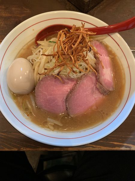 「特製味噌らーめん」@東京味噌らーめん 鶉の写真