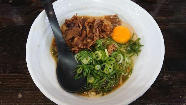「肉玉醤油らーめん 750円」@麺場 風麟の写真