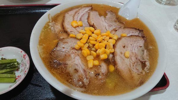 「チャーシュー味噌ラーメン 950円」@よし味食堂の写真