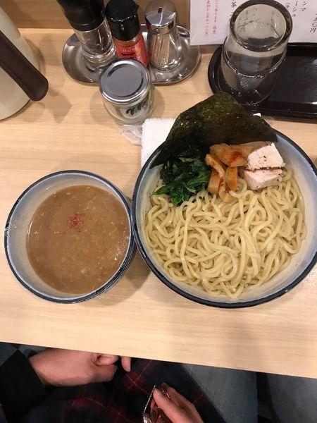 「つけめん・中盛 800円」@麺や わたる 亀戸天神店の写真