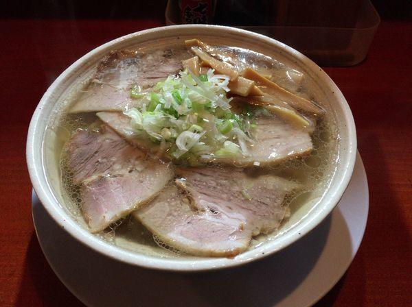 「肉とりしおそば(麺硬め)850円」@とりそば にこみ 和の写真