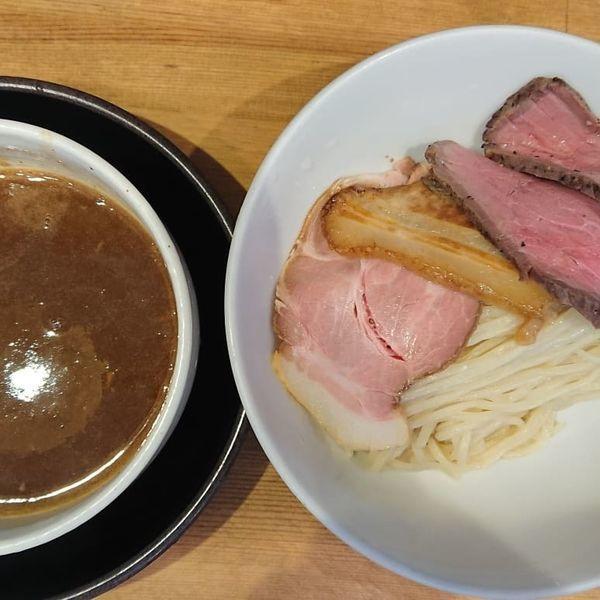 「年始限定10食のみ つけ麺 930円」@清麺屋の写真