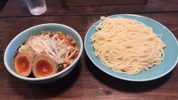「特つけ並260g+やさい味玉・¥1,000」@つけそば屋 麺楽の写真