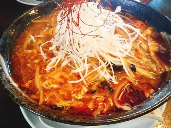 「酸辣湯麺」@麺 AKIBAの写真