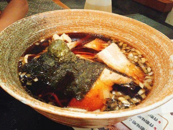 「竹岡式ラーメン」@らーめん 大葉の写真