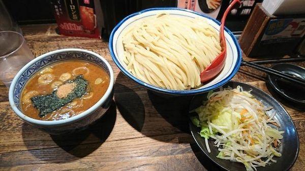 「野菜盛りつけ麺」@つけ麺専門店 三田製麺所 なんば店の写真
