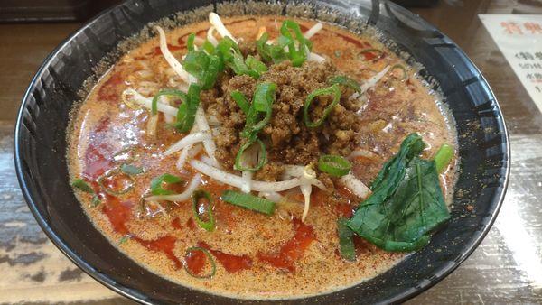 「赤担々麺辛さ2倍」@東京担々麺 ゴマ哲の写真