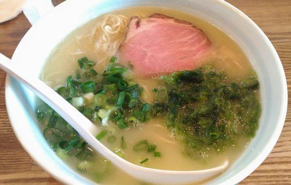 「生辛子入りラーメン」@らーめん まる玉 大島店の写真
