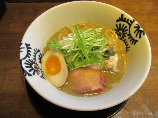 「限定 濃厚蟹拉麺+蟹味噌(1000円)」@特級中華蕎麦 洋介の写真