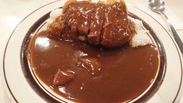 「カツカレー(500円)」@カレー専門店 クラウンエース 上野店の写真