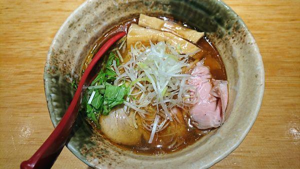 「焼きあご塩らー麺 800円」@焼きあご塩らー麺 たかはしの写真