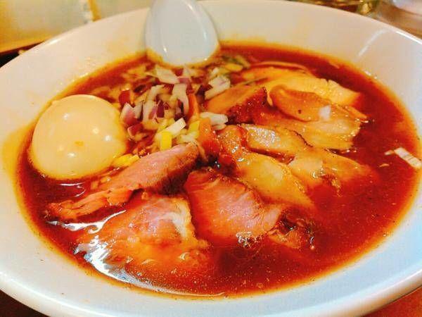 「特製ラーメン醤油味」@鶏こく中華 すず喜の写真