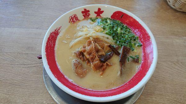 「徳島白湯ラーメン (並盛) 600円」@ラーメン東大 天白店の写真