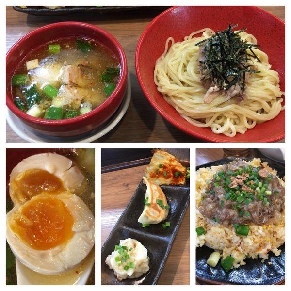 「極-Kiwami-塩つけSOBA 890円+他色々」@麺家 Shumen Doushiの写真