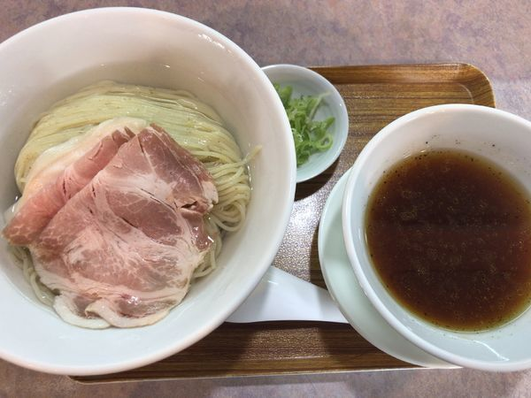 「鶏つけ麺850円」@麺道 夢幻 赤沼店の写真