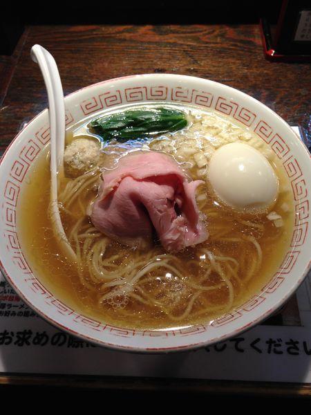 「味玉 煮干しラーメン 900円」@らぁめん小池の写真